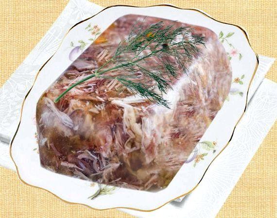 Холодец из рульки свиной рецепт с фото