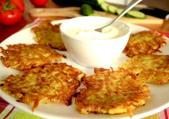 Как приготовить драники из картофеля рецепт с фото пошагово