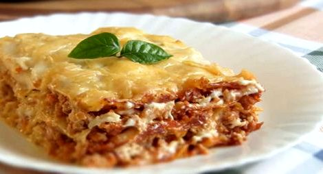 Как приготовить лазанью в домашних условиях пошаговый рецепт Если вас интересует лазанья, рецепт