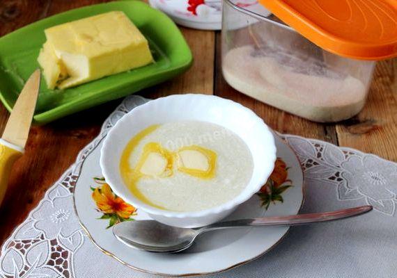 Как приготовить манную кашу на молоке без комочков рецепт с фото