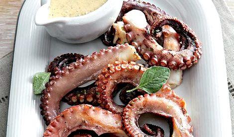 Как приготовить осьминога в домашних условиях пошаговый рецепт с фото Мясо осьминога нежное