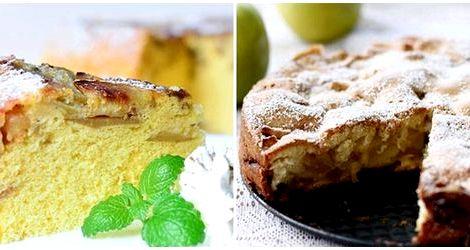 Как приготовить шарлотку с яблоками в духовке пошаговый рецепт с фото духовке         Яблочная шарлотка на кефире