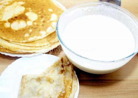 Как завести тесто на блины на молоке рецепт пошагово Они идеально подходят не только