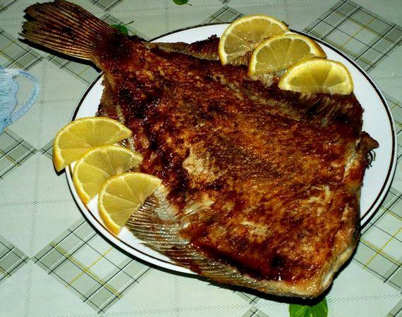 Камбала в фольге в духовке рецепт с фото