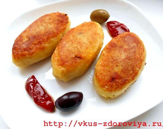 Картофельные зразы с фаршем рецепт с фото пошагово на сковороде