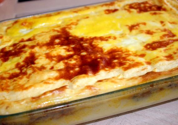 Картошка с фаршем в духовке рецепт с фото пошагово с сыром