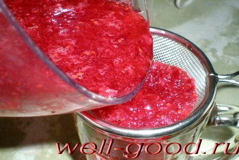 Клюквенный морс рецепт из замороженных ягод клюквой стандартно