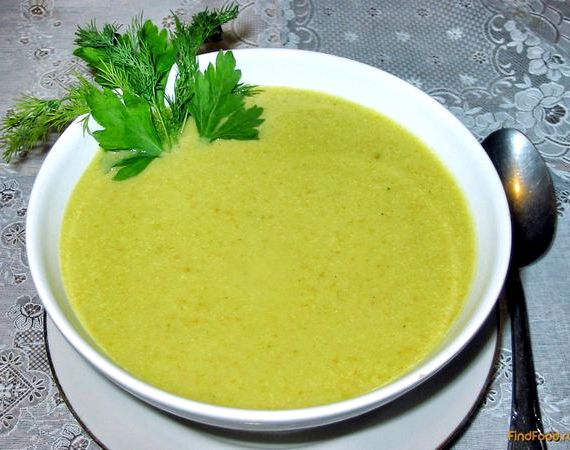 Крем суп из брокколи рецепт
