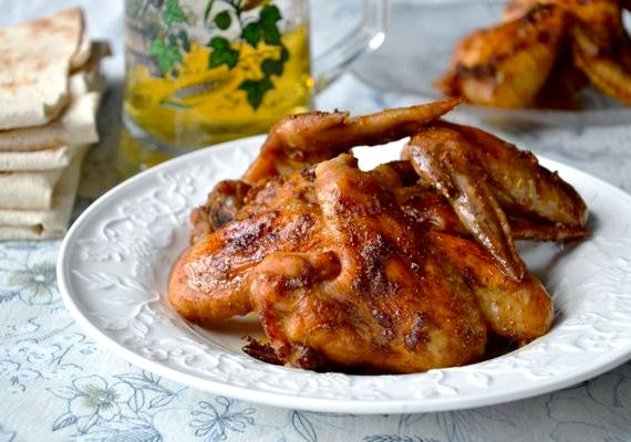 Крылышки в медово соевом соусе в духовке рецепт с фото пошагово