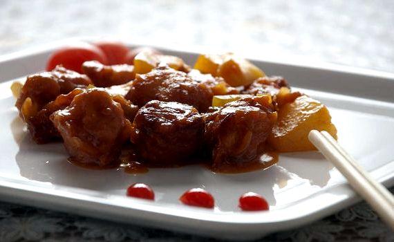 Курица в кисло сладком соусе рецепт