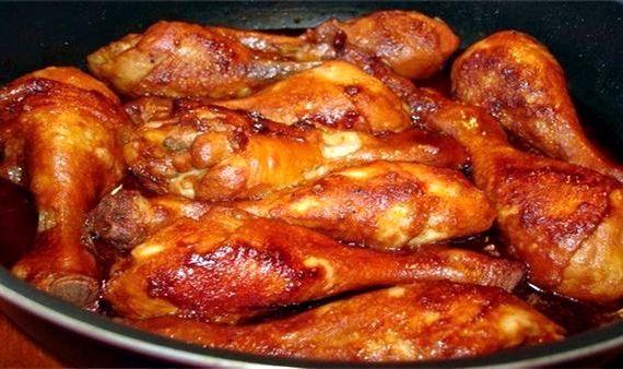 Куриные ножки в духовке с хрустящей корочкой острые