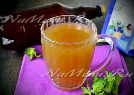 Квас из цикория в домашних условиях рецепт с сухими дрожжами оставшийся лимон или