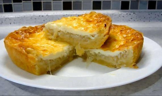 Луковый пирог от ольги матвей рецепт