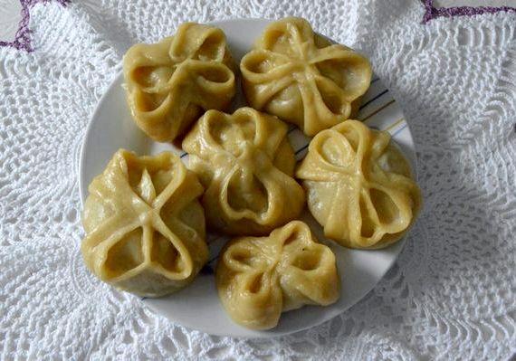 Манты рецепт приготовления с фото пошагово с мясом и луком