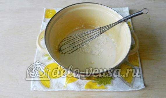 Молочный кисель из картофельного крахмала рецепт