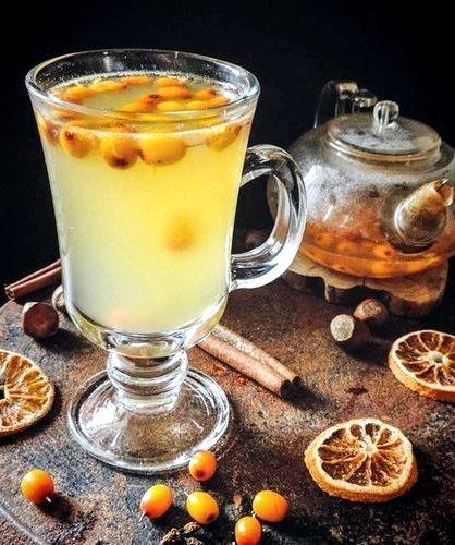 Облепиховый чай рецепт как в шоколаднице том, как приготовить облепиховый