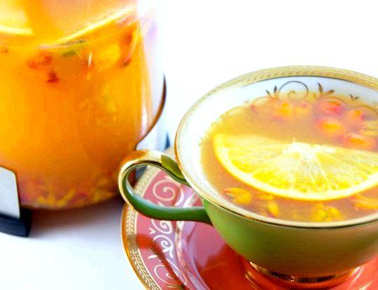 Облепиховый чай рецепт как в шоколаднице острой фазе