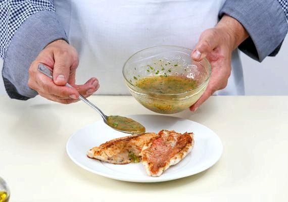 Окунь жареный на сковороде рецепт с фото