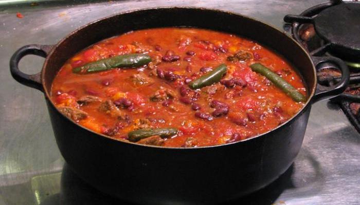 Суп чили, французский суп