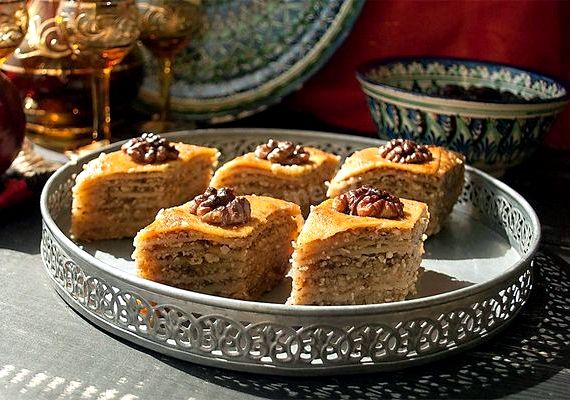 Пахлава турецкая рецепт с фото пошагово в домашних условиях