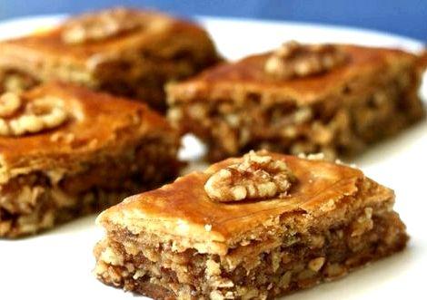 Пахлава в домашних условиях рецепт с фото пошагово двести граммов маргарина или масла