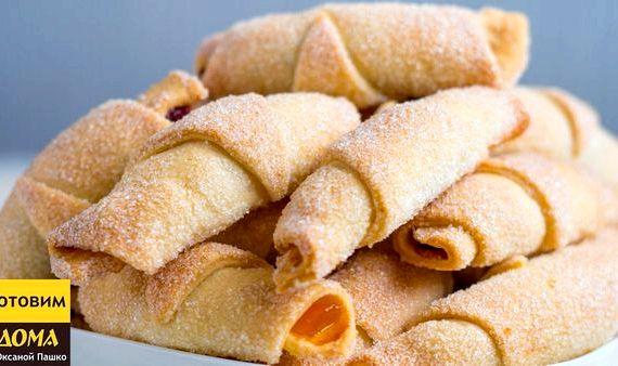 Печенье песочное домашнее рецепт на маргарине с вареньем