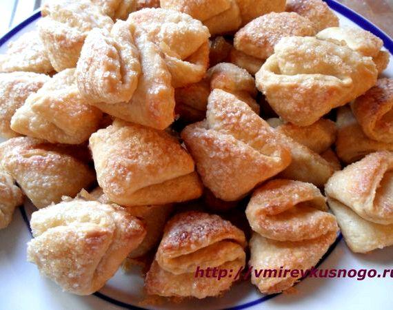 творожное печенье слоеное рецепт