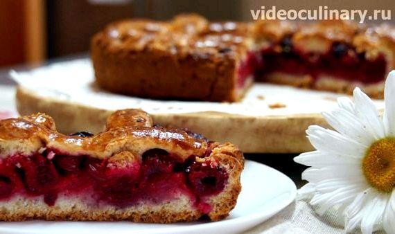 Песочное тесто для пирога с творогом рецепт с фото