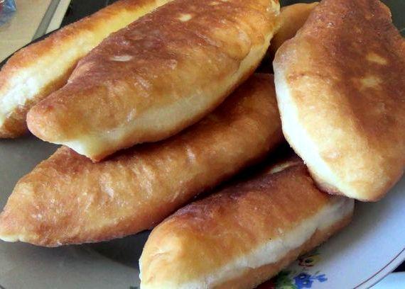 Пирожки жареные с капустой на сковороде рецепт с фото