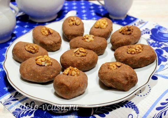 Пирожное картошка рецепт из печенья со сгущенкой с фото пошагово