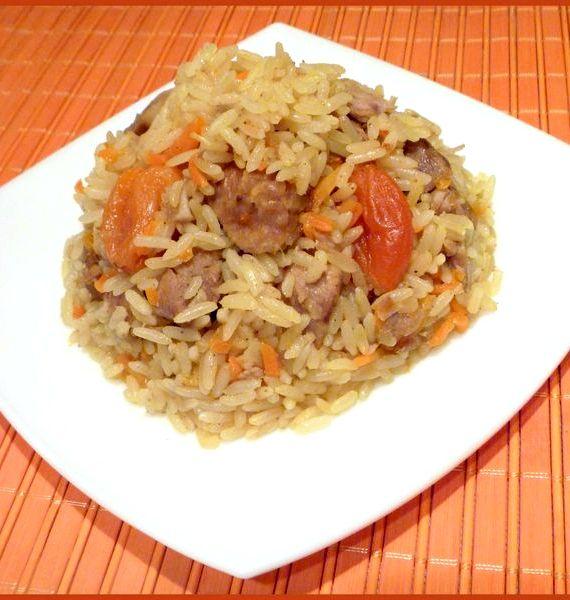 Плов из индейки рецепт с фото пошагово