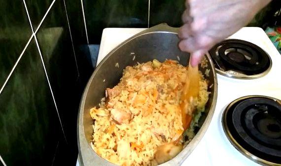 Плов рецепт со свининой рассыпчатый