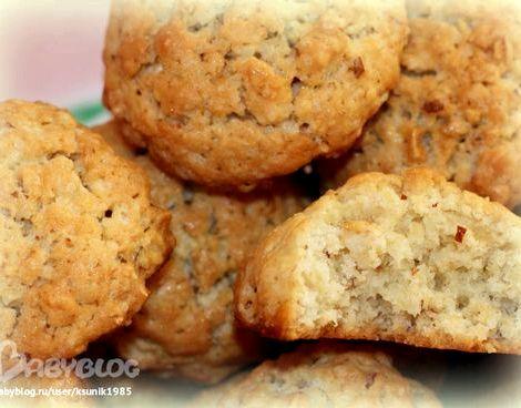 Простой рецепт овсяного печенья из овсяных хлопьев на самом деле получается вкусное
