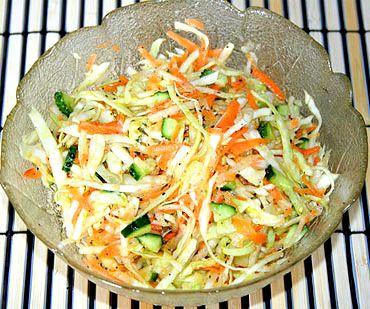 Простой рецепт салата на скорую руку Чтобы если гости