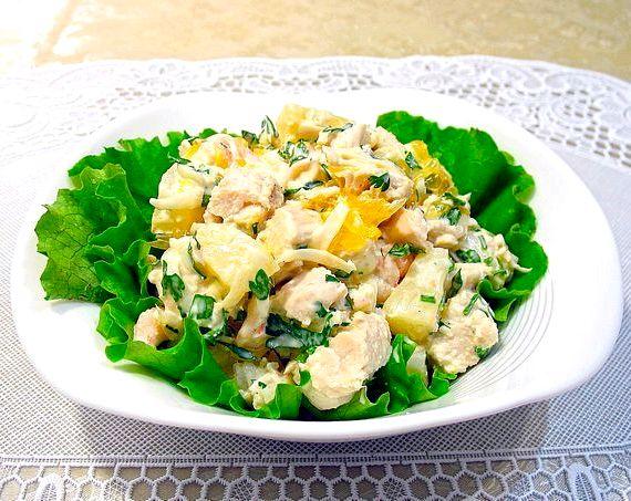 Простой рецепт салата на скорую руку