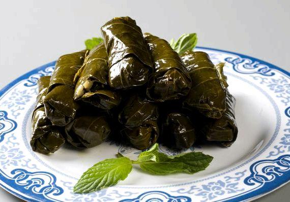 Рецепт долмы из виноградных листьев по армянски