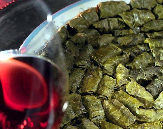 Рецепт долмы из виноградных листьев с фото по шагам