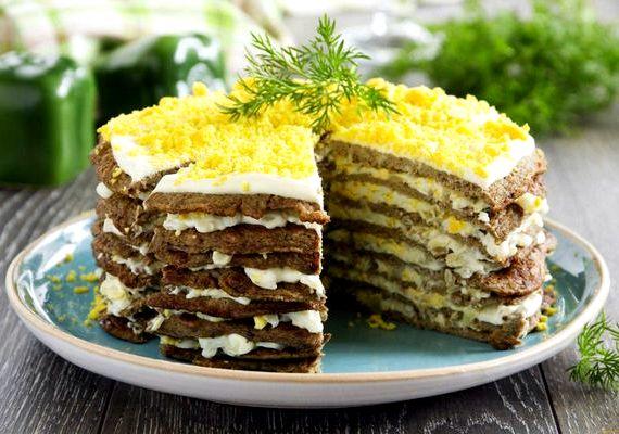 торт из говяжеи печени рецепт с видео