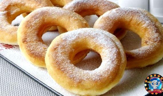Как сделать пончики в домашних условиях круглые фото 315