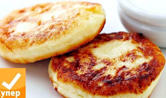 Рецепт сырников из творога классические на сковороде пошагово с фото