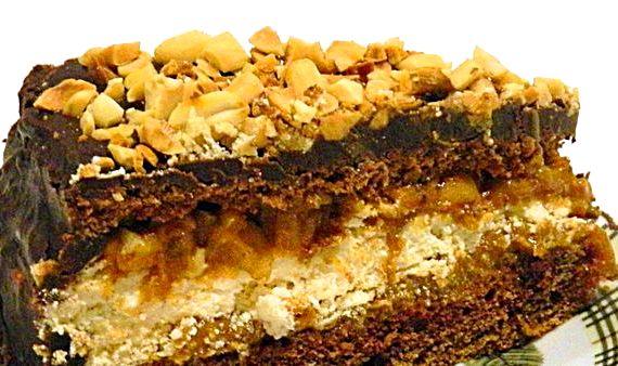 Рецепт торта сникерс в домашних условиях