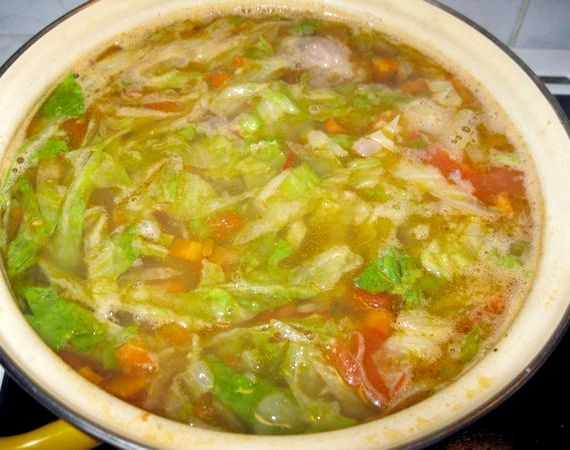 Рецепт щи из свежей капусты с фото