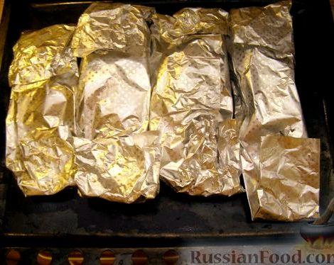 Рыба запеченная в духовке в фольге рецепт петрушка,            специи