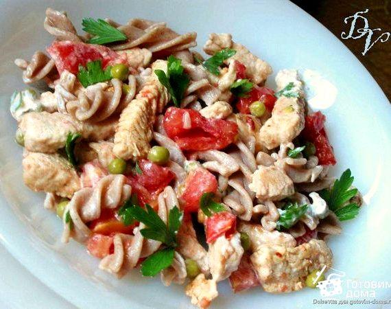 Салат из индейки рецепт с фото очень вкусный
