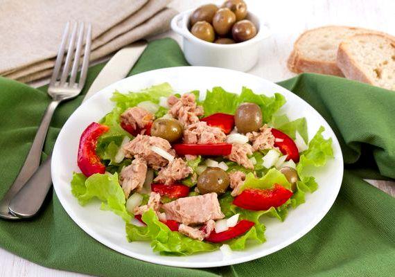 Салат из яиц и тунца консервированного рецепт