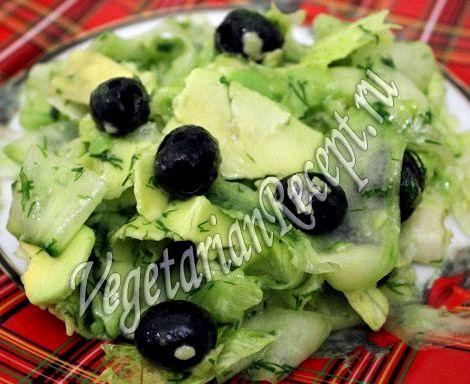 Салат с авокадо рецепт с фото очень вкусный шикарным, будет отличаться тонкими
