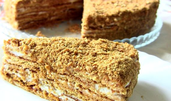 Самый простой рецепт торта в домашних условиях