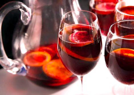 Сангрия рецепт классический из красного вина в домашних условиях кем была создана сангрия