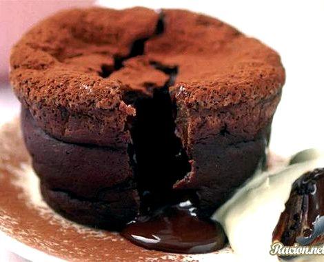 Шоколадные маффины с жидкой начинкой рецепт шоколадный десерт утратит свою оригинальность