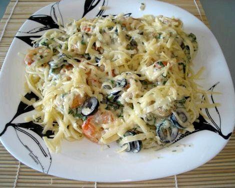 Сливочный соус для спагетти рецепт в домашних подождать пока он полностью